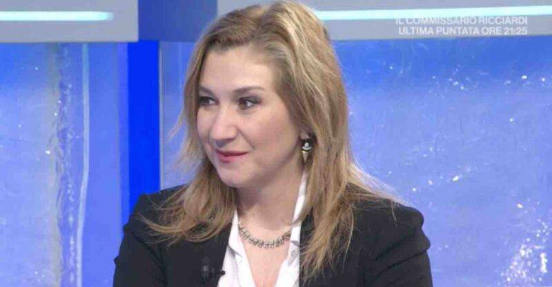 Serena Bortone, gaffe in diretta con Ermal Meta (Screenshot Raiuno)