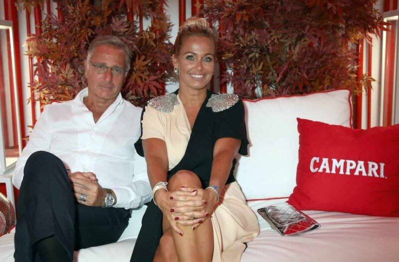 Sonia Bruganelli, seconda moglie di Bonolis (Getty Images)