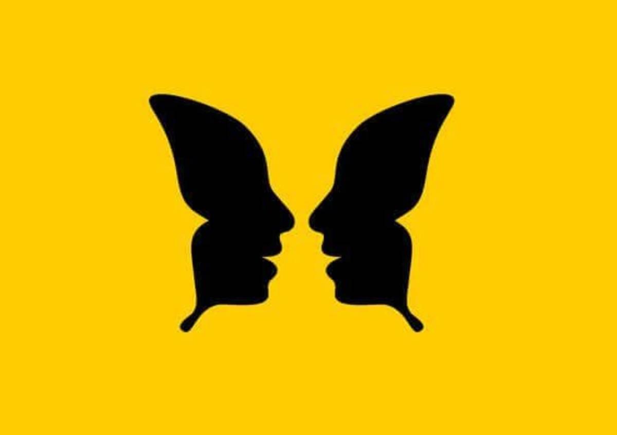 test volto o farfalla
