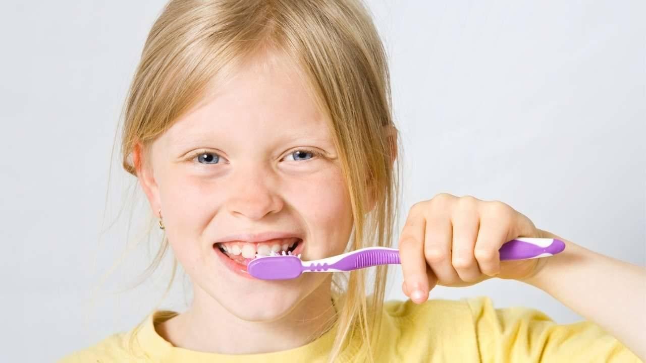 carie denti bambini