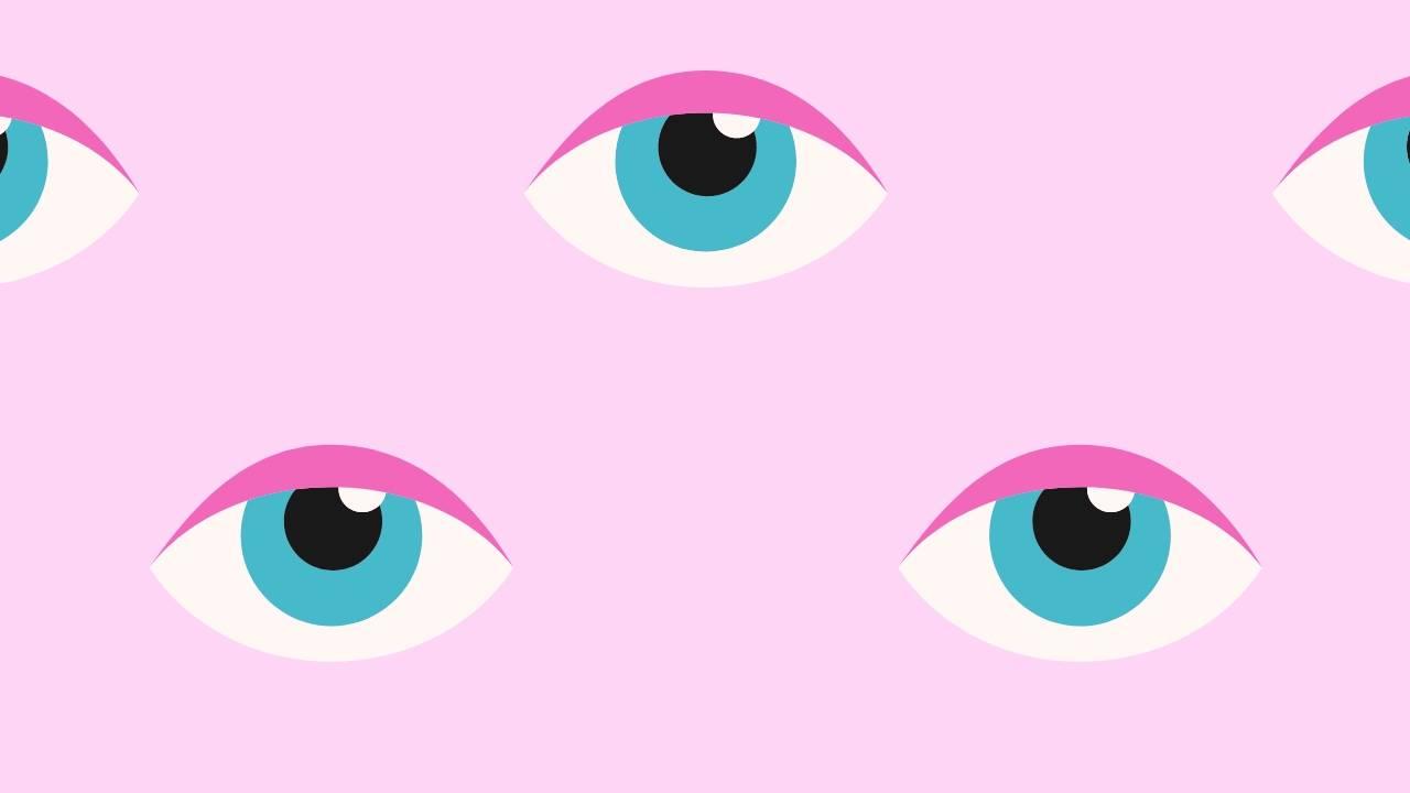 bacio ad occhi aperti