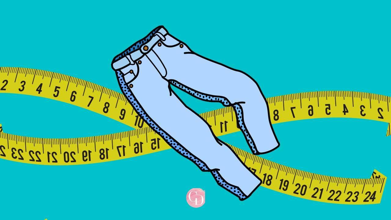taglia dei pantaloni