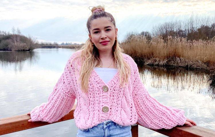 maglione rosa