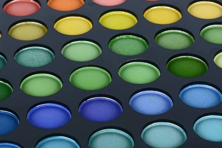 ombretti colorati
