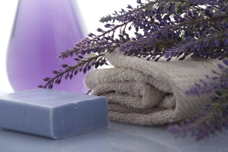 sapone alla lavanda