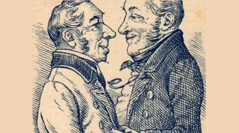 test immagine due uomini e una donna