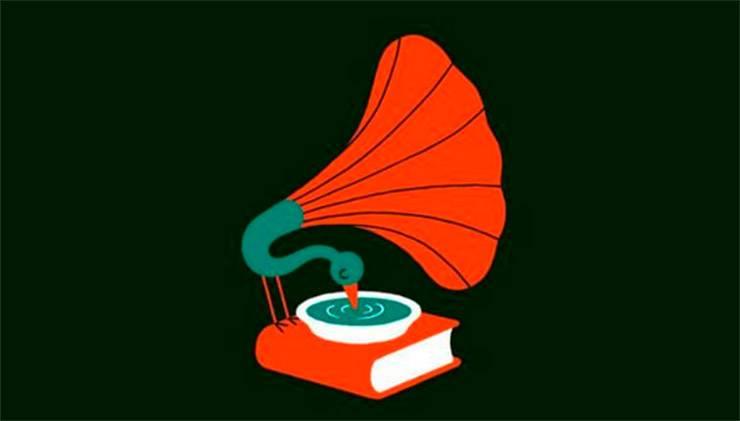 test libro pavone grammofono