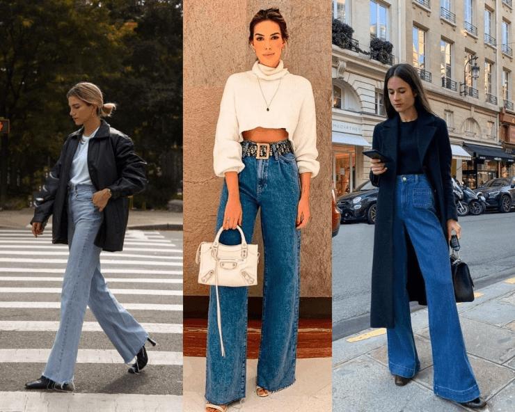 jeans ampio look