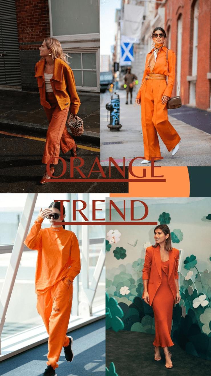 Trend arancione