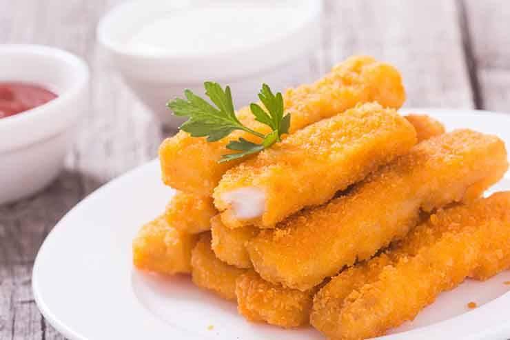 bastoncini di pesce
