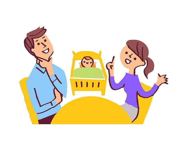 genitori con figli, dialogo