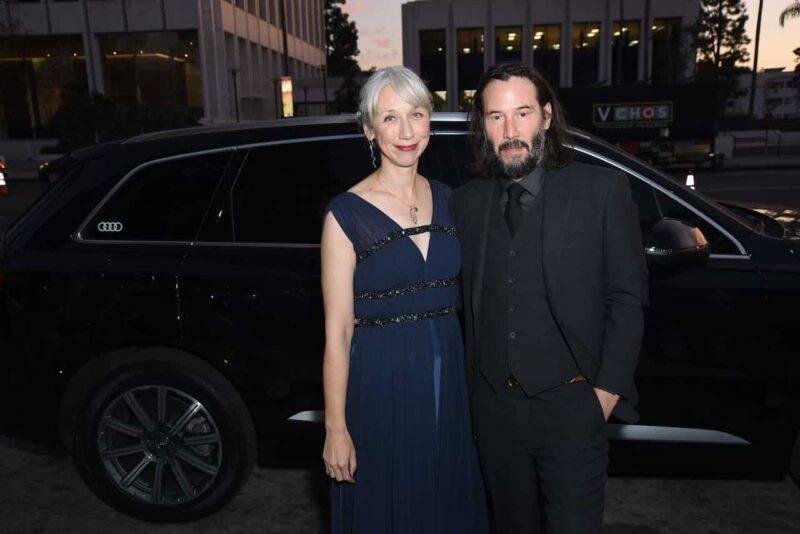 Alexandra Grant, fidanzata di Keanu Reeves (Getty Images)
