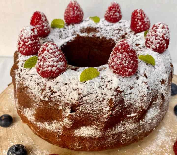 Choco Angel Cake: una ciambella paradisiaca soffice e leggera!
