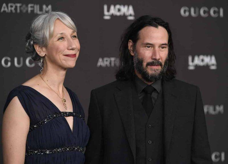 Keanu Reeves e Alexandra Grant (Getty Images)