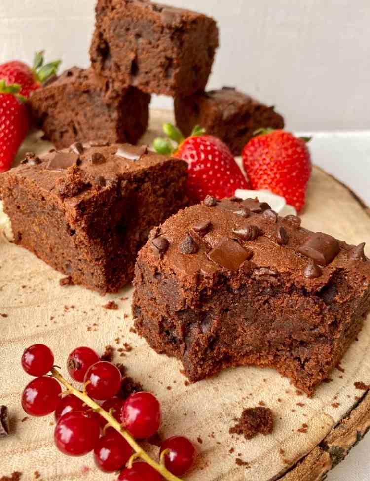 Brownies light e vegani