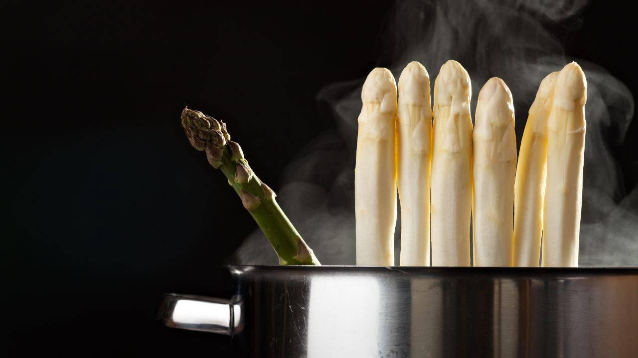 pulire asparagi