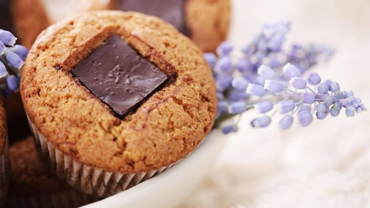 muffin uova cioccolato