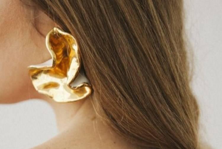 orecchini metallo grandi