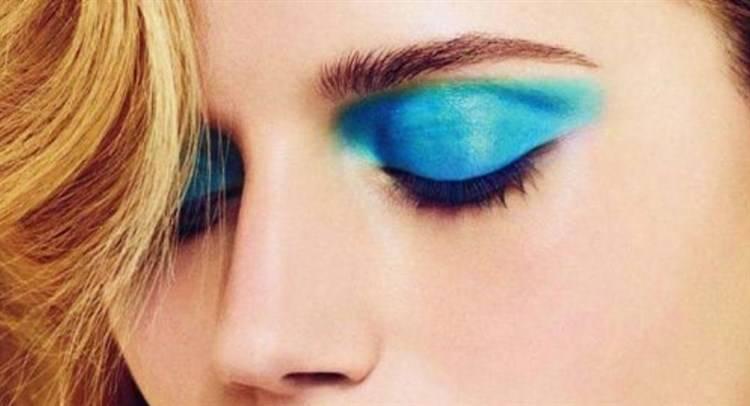 Trucco occhi colorato