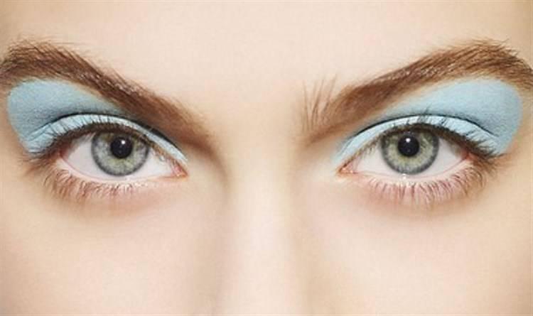 ombretto sbagliato occhi marroni