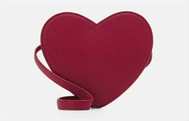 borsa rossa cuore zalando