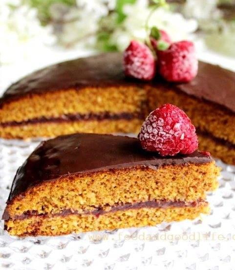 torta low carb e senza glutine