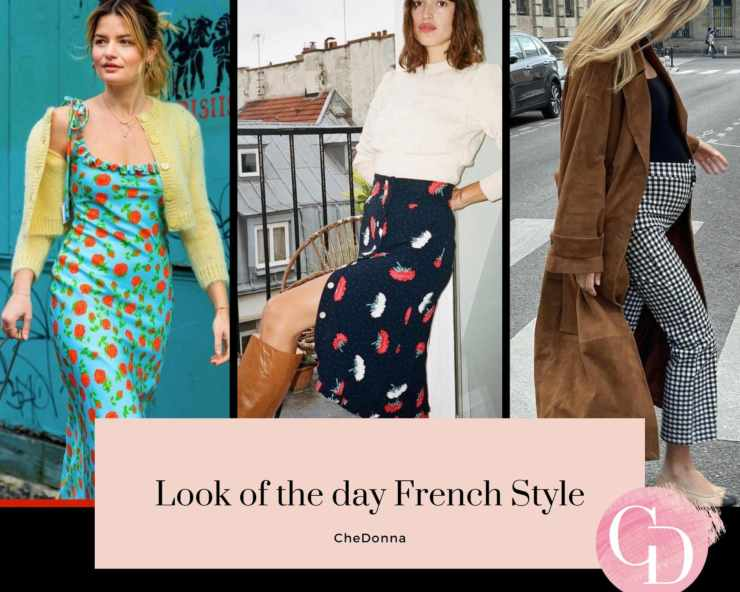 look of the day french style