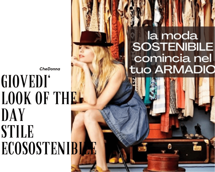 look of the day ecosostenibile
