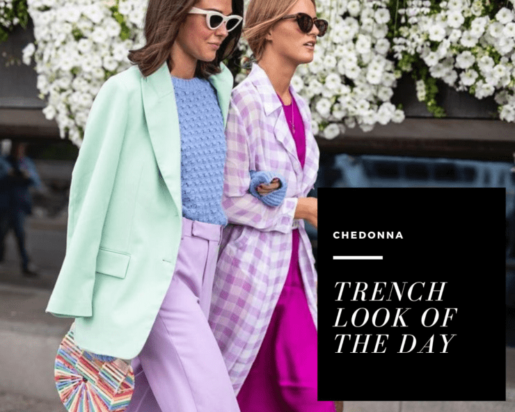 trench look of the day