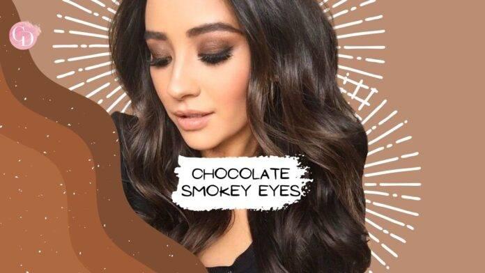 smokey eyes cioccolato