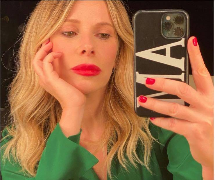 Alessia Marcuzzi selfie