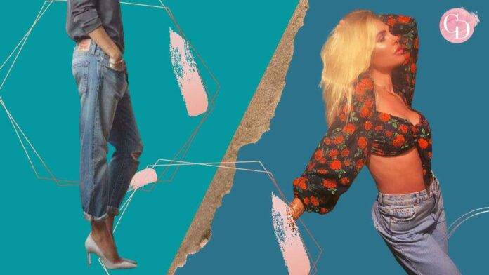 Ilary Blasi jeans