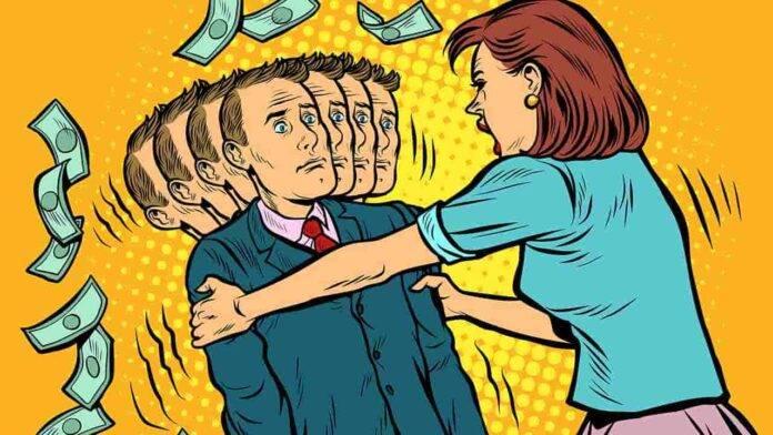 coppia problemi finanziari