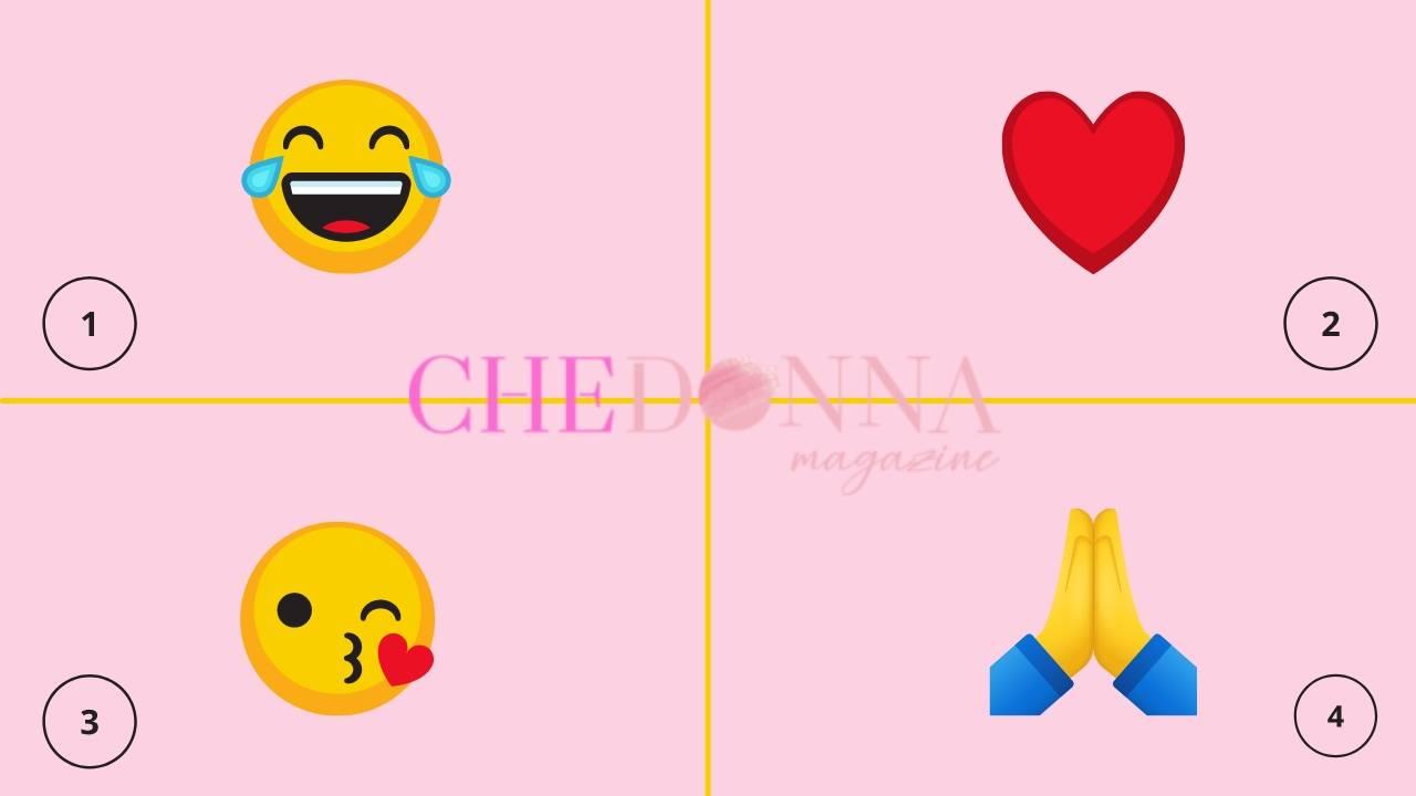emoji più usate test