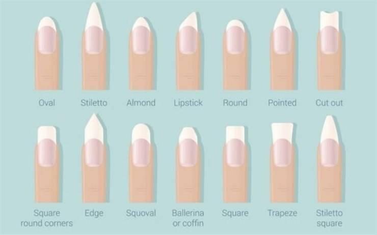 forma unghie