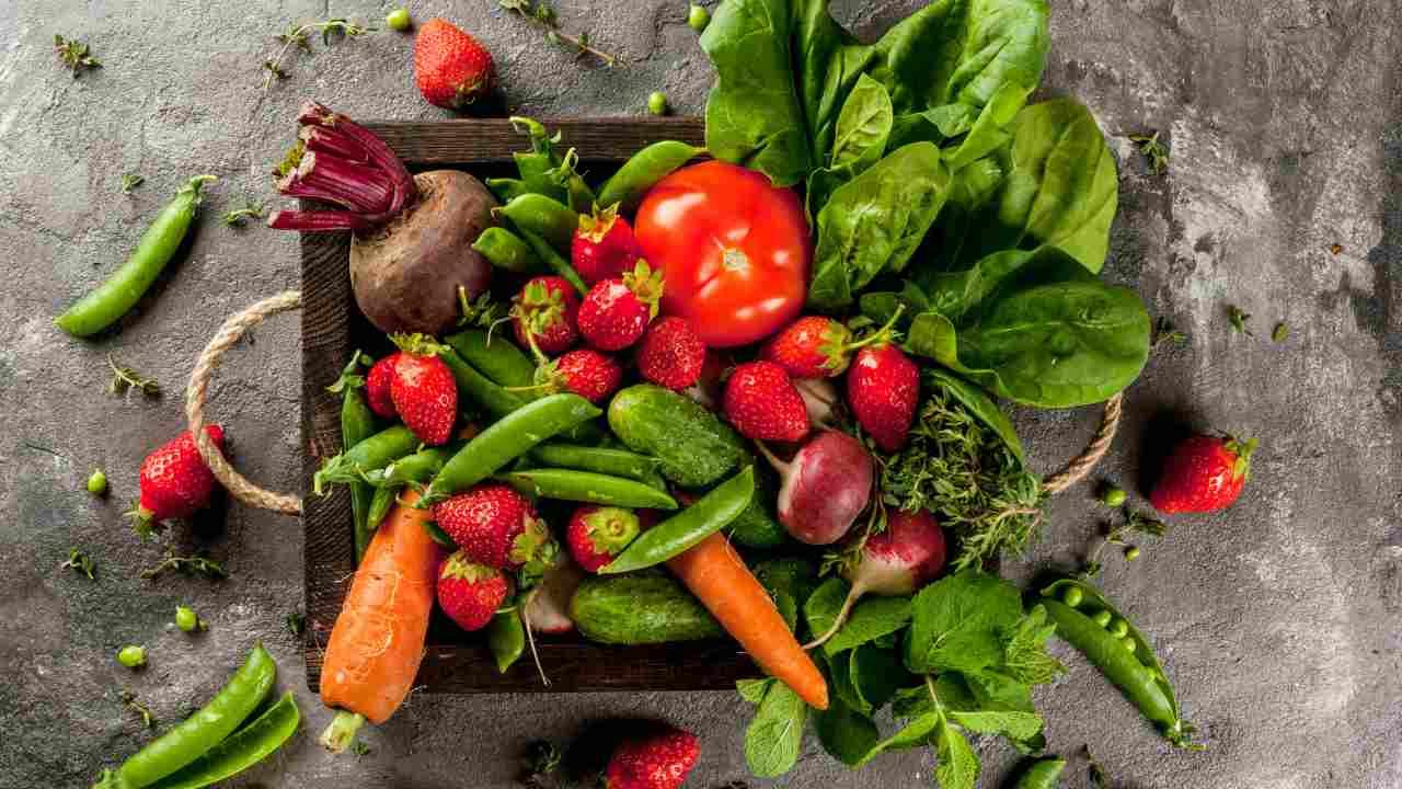 frutta verdura primavera