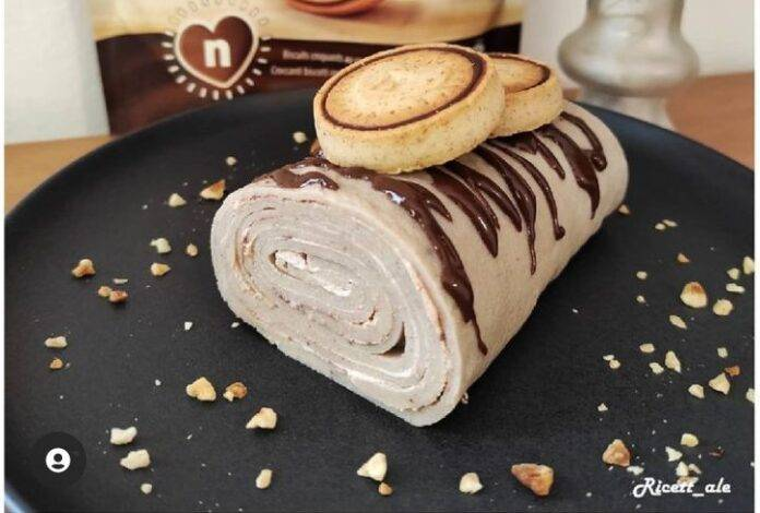 nutella biscuits crepes roll