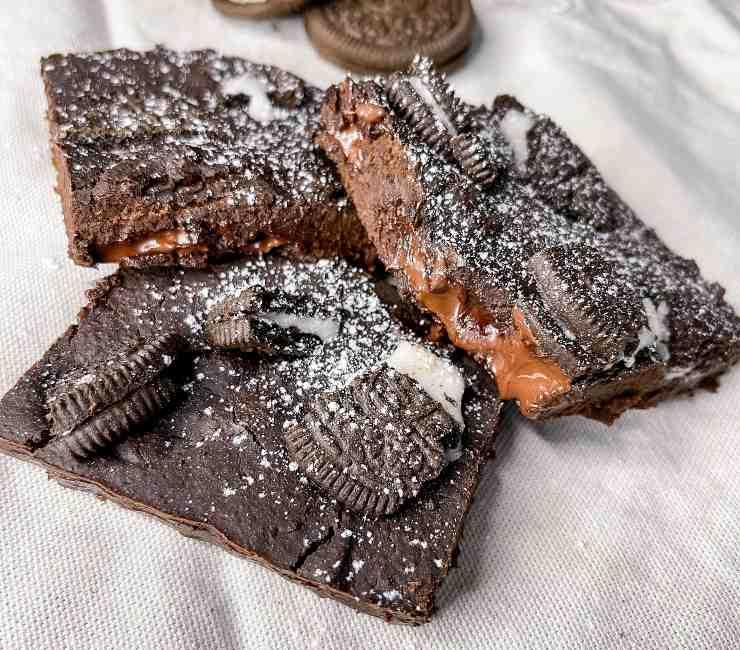 Brownies Oreo Vegan