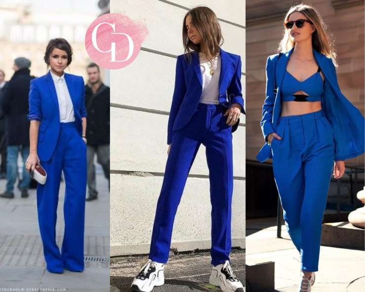 street look outfit bluette