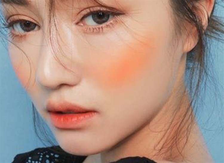 blush arancione