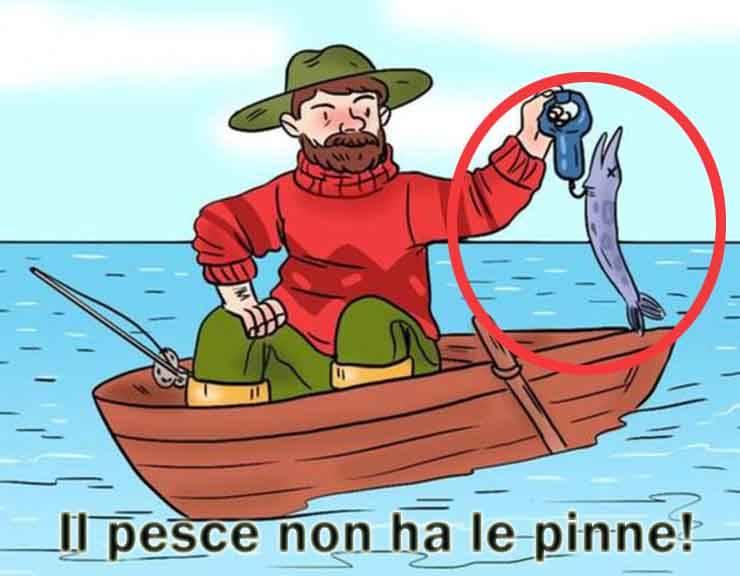 test pescatore