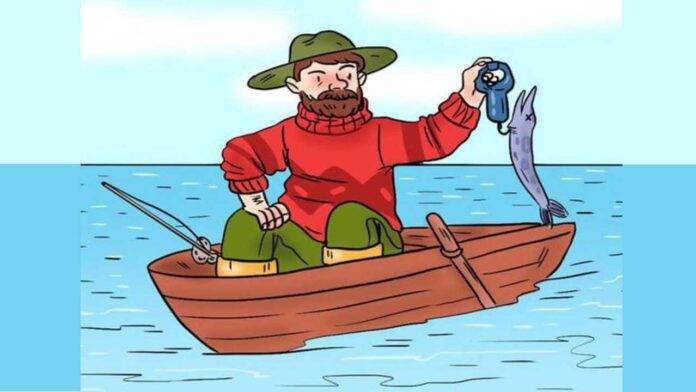 test immagine pescatore