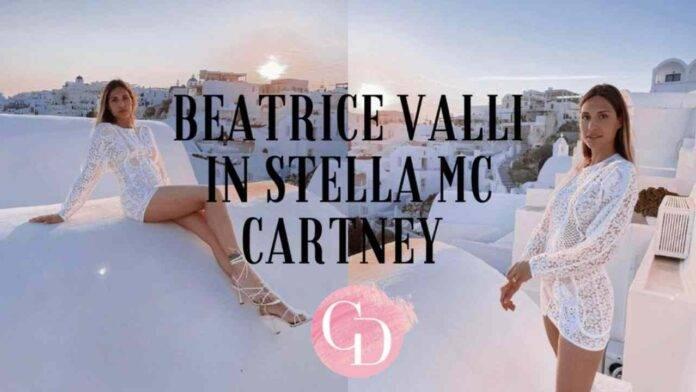 Beatrice Valli in Stella Mc Cartney