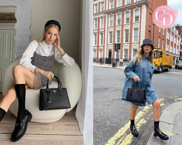 Outfit con Prada Galleria Bag