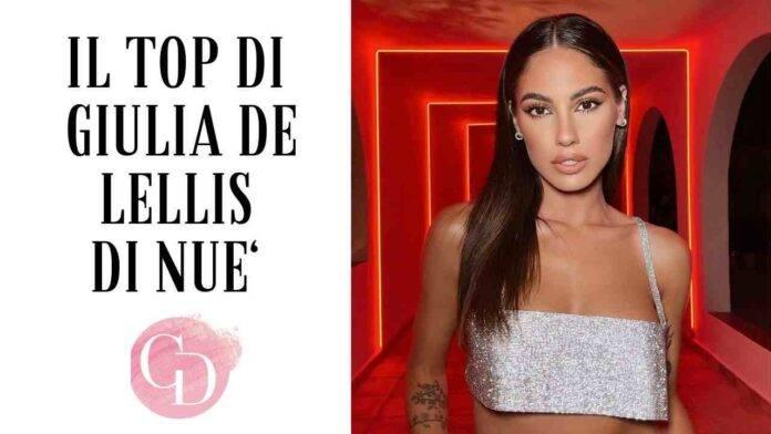 Top Nué di Giulia De Lellis