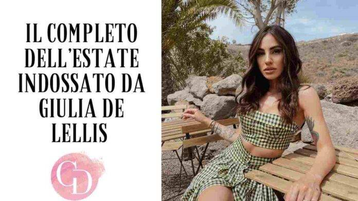 Giulia De Lellis indossa Philosophy