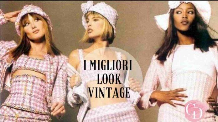 Modelle anni '90 look vintage