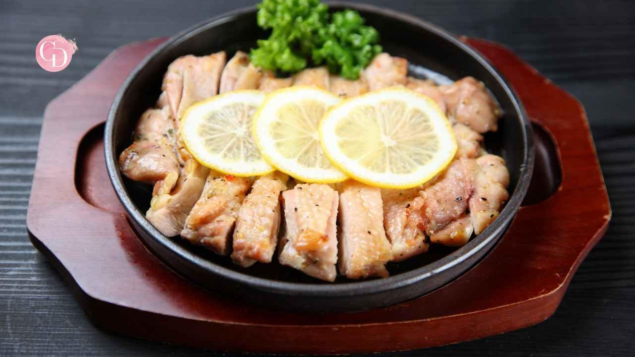 Pollo al limone saporito