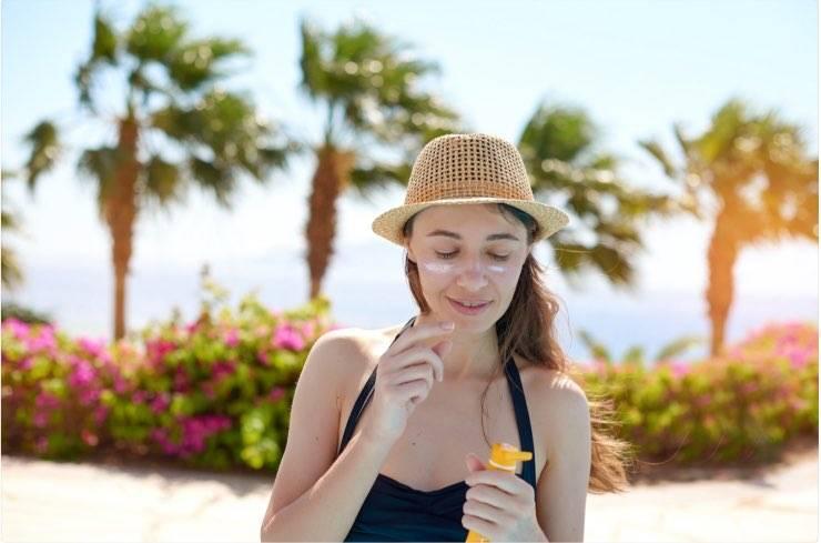 crema solare viso