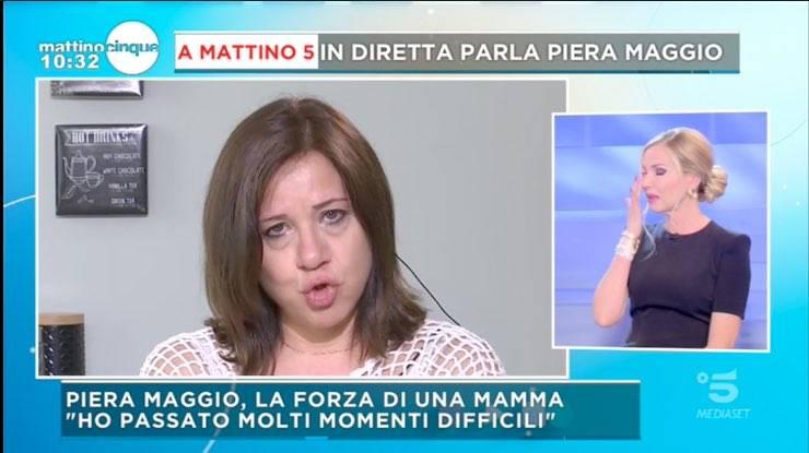 Federica Panicucci e Piera maggio